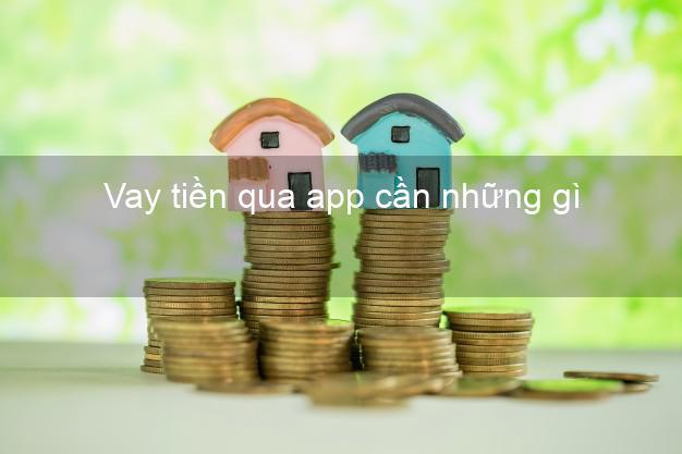 Vay tiền qua app cần những gì