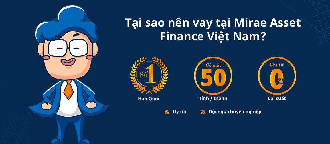 Hướng dẫn vay tiền Mirae Asset có tiền ngay