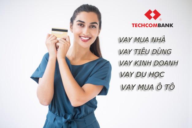 Hướng dẫn vay tiền Techcombank lãi suất thấp