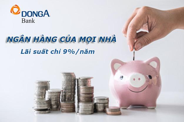 Hướng dẫn vay tiền ngân hàng Đông Á tháng 4 2021