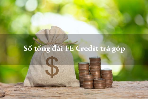 Số tổng đài FE Credit trả góp